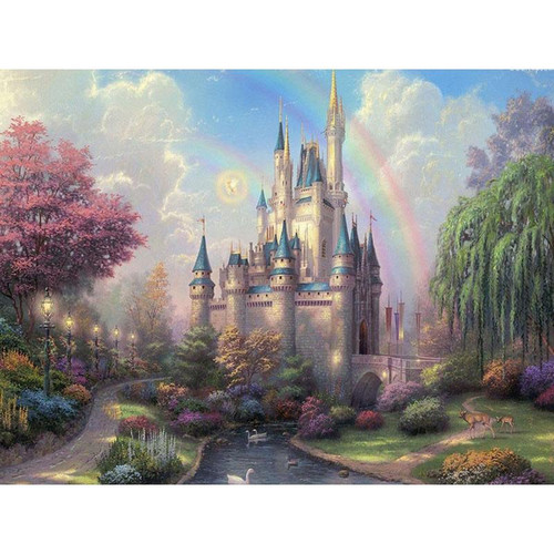 Wonder Castle - DIY Painting By Numbers Kit