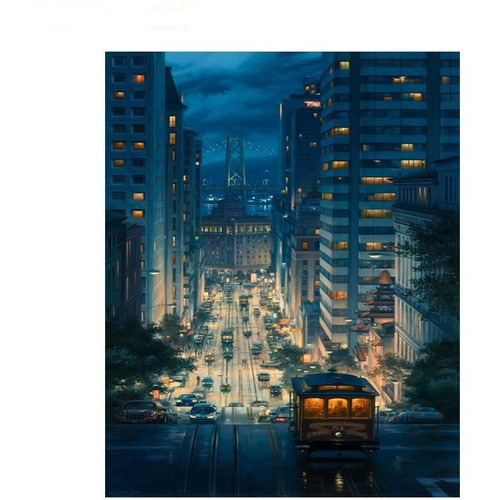 City View - DIY Painting By Numbers Kits
