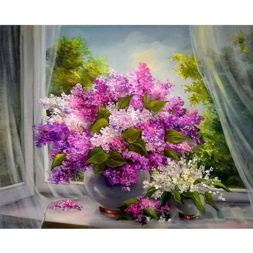 Hydrangeas - DIY Painting By Numbers Kit