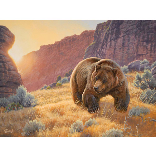 Canyon Visitor - DIY Painting By Numbers Kit