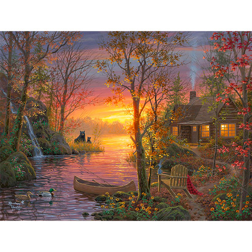 Autumn Vacation - DIY Painting By Numbers Kit