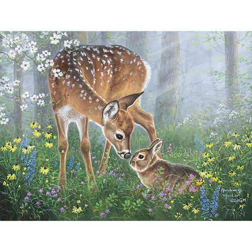 Forest Friends - DIY Painting By Numbers Kit