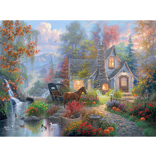 Fairytale Cottage - DIY Painting By Numbers Kit