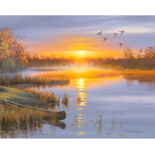 Autumn Solitude - DIY Painting By Numbers Kit
