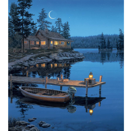 Crecsent Moon - DIY Painting By Numbers Kit