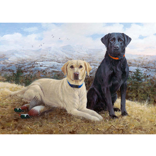 Knox and Lexi - DIY Painting By Numbers Kit