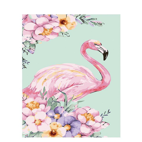 Art Flamingo - DIY Painting By Numbers Kit