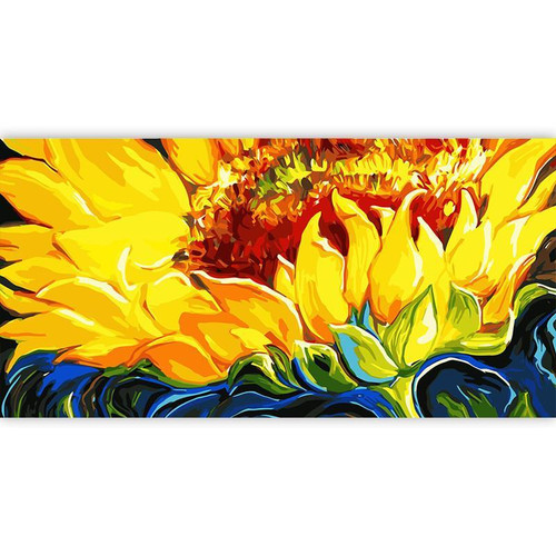 Sunflower Yellows - DIY Painting By Numbers Kit