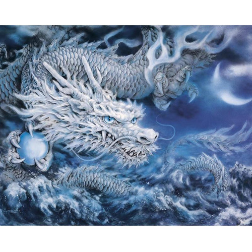 Blue Dragon - DIY Painting By Numbers Kit