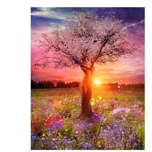 Glowing Tree DIY Painting By Numbers Kit