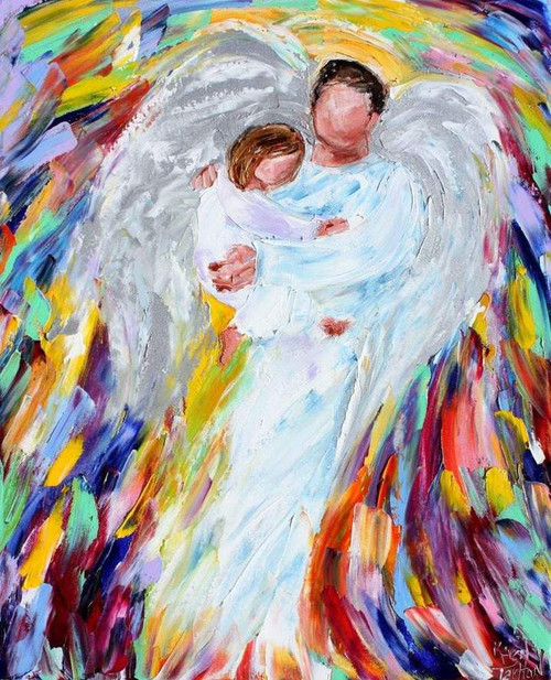 Wings Of Father - DIY Painting By Numbers Kit