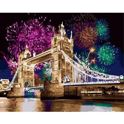 Fireworks in London - DIY Painting By Numbers Kits