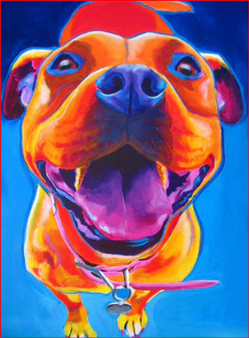 Adorable Dog Colors - DIY Painting By Numbers Kit