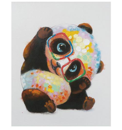 Playful Panda - DIY Painting By Numbers Kit