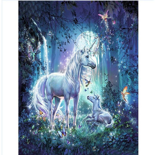 Magical Unicorn - DIY Painting By Numbers Kits
