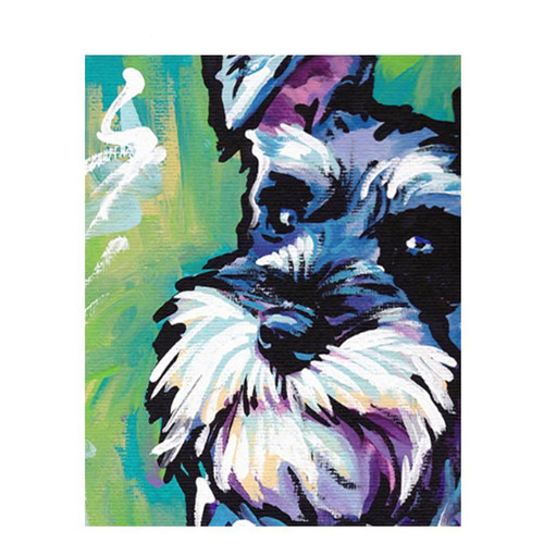 Clever Dog - DIY Painting By Numbers Kit