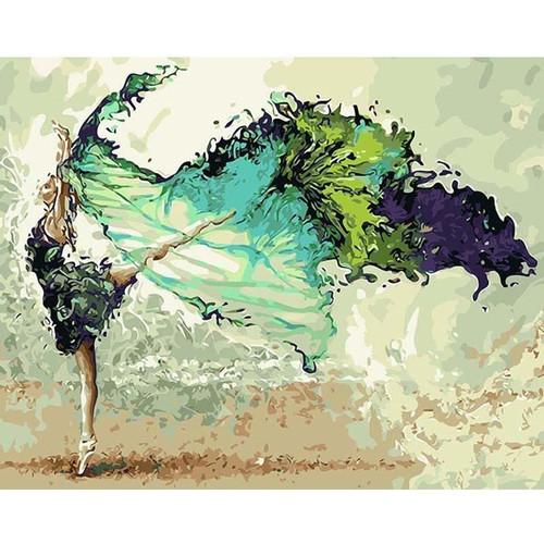 Dancing Girl - DIY Painting By Numbers Kits