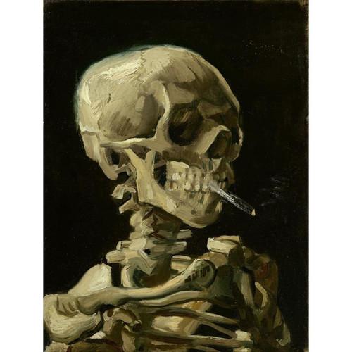 Scary Skeleton - DIY Painting By Numbers Kit