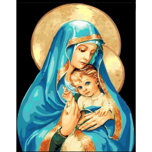 Virgin Mary - DIY Painting By Numbers Kit
