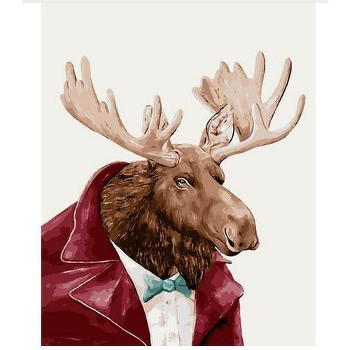 Gentleman Deer - DIY Painting By Numbers Kit