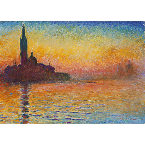 San Giorgio Maggiore At Dusk - Claude Monet 5D DIY Paint By Number Kit