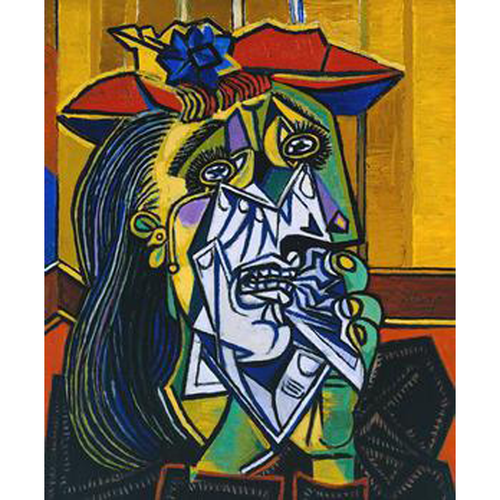 THE WEEPING WOMAN - Pablo Picasso 5D DIY Paint By Number Kit