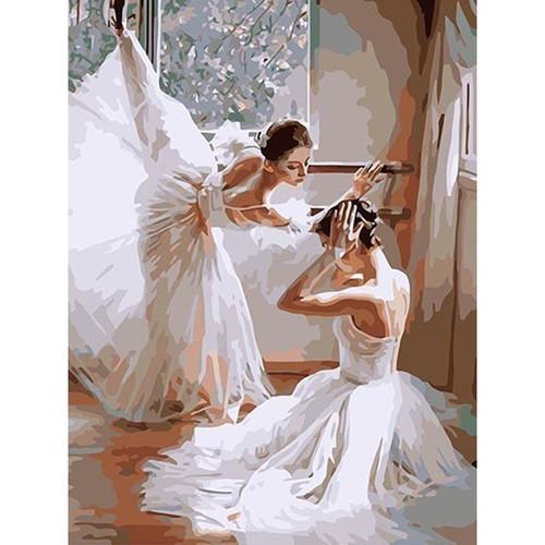 Ballerinas Dancing - DIY Painting By Numbers Kit