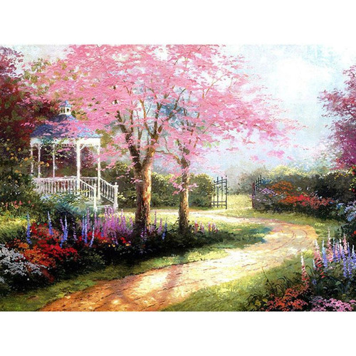 Beautiful Lawn - DIY Painting By Numbers Kit