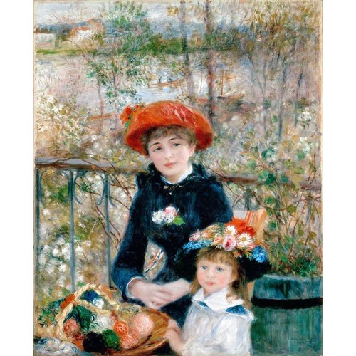 Two Sisters (On The Terrace) - August Renoir DIY Painting By Numbers Kit