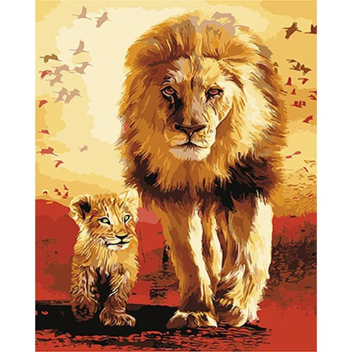 The Lion King - DIY Painting By Numbers Kits