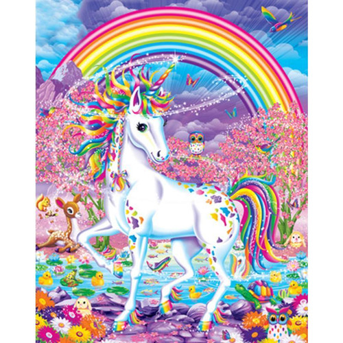 Colorful Unicorn - DIY Painting By Numbers Kit
