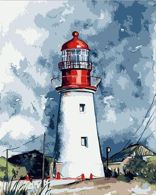 The Lighthouse - DIY Painting By Numbers Kit