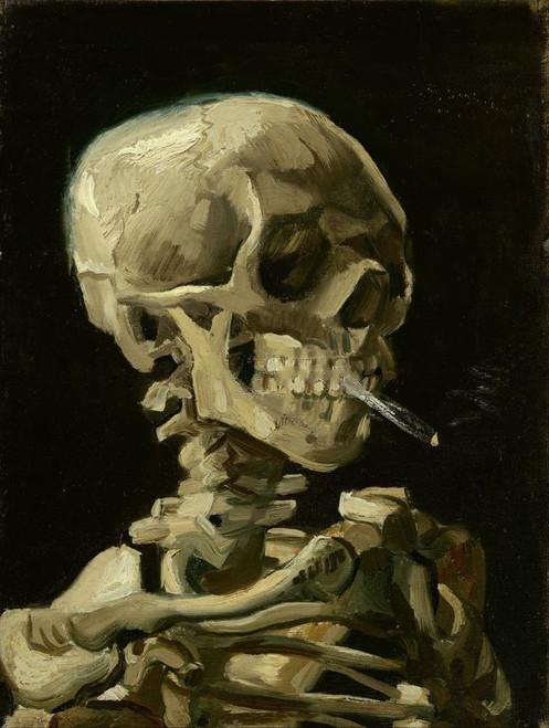Smoking Skeleton - DIY Painting By Numbers Kit