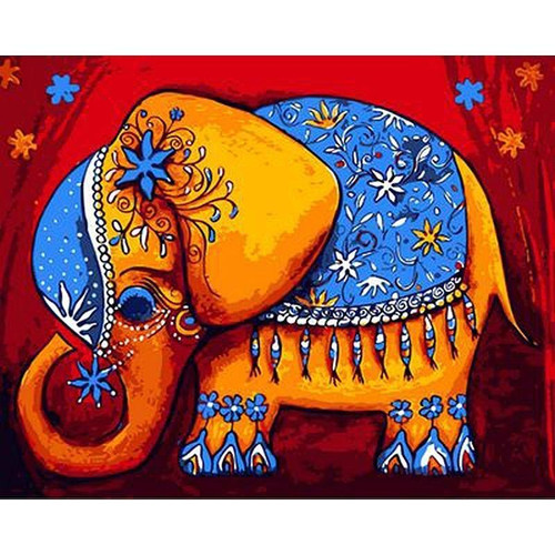 Mandala Elephant - DIY Painting By Numbers Kits