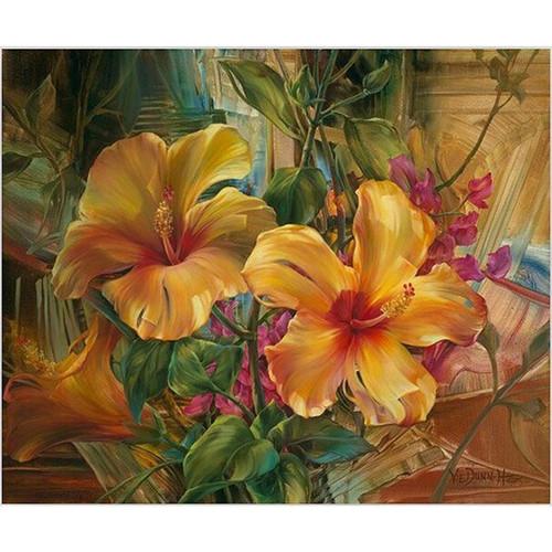 Elegant Flowers - DIY Painting By Numbers Kit