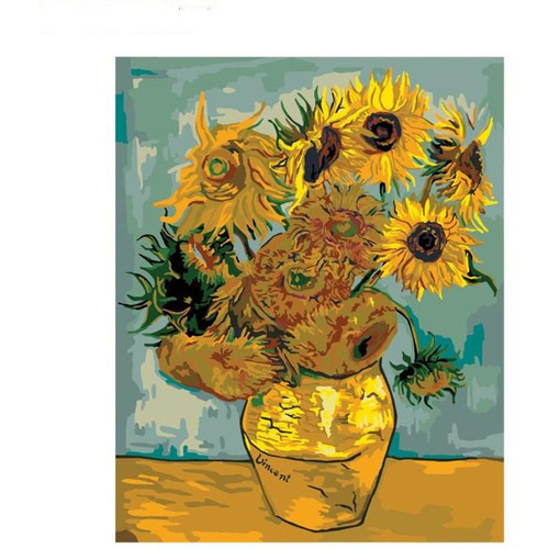 Flowers Of All Kinds - DIY Painting By Numbers Kit
