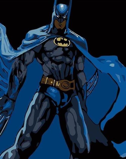 Dark Hero Knight - DIY Painting By Numbers Kit