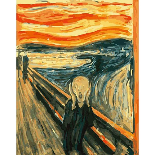 The Scream - DIY Painting By Numbers Kit