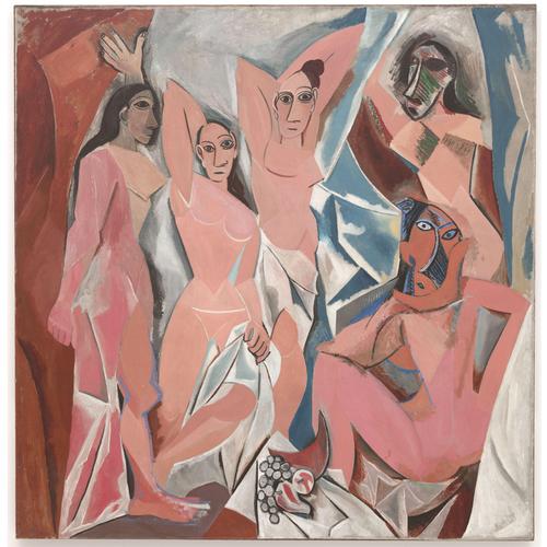 LES DEMOISELLES D'AVIGNON - Pablo Picasso 5D DIY Paint By Number Kit