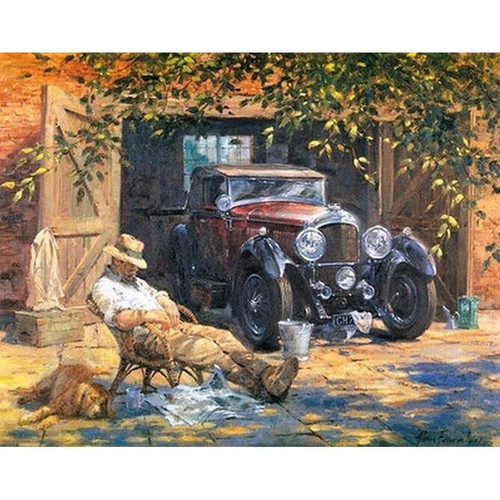Man and a Car - DIY Painting By Numbers Kits