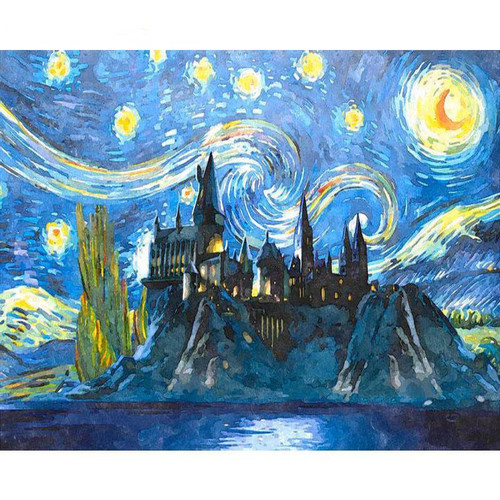 Night Stars - DIY Painting By Numbers Kit