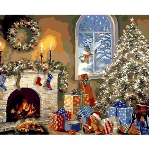 Christmas Morning - DIY Painting By Numbers Kits