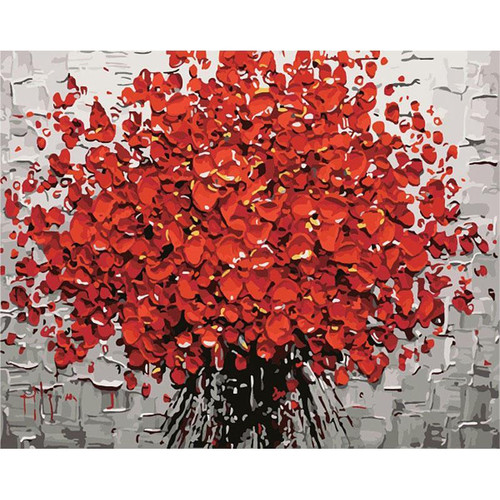 Petals Of Roses - DIY Painting By Numbers Kit