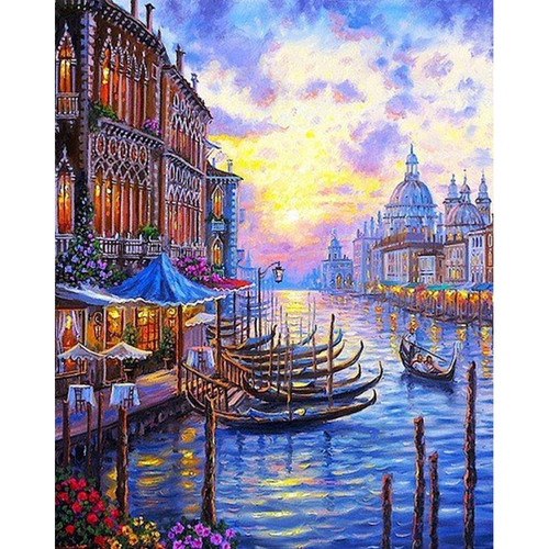 Classic Venice - DIY Painting By Numbers Kit