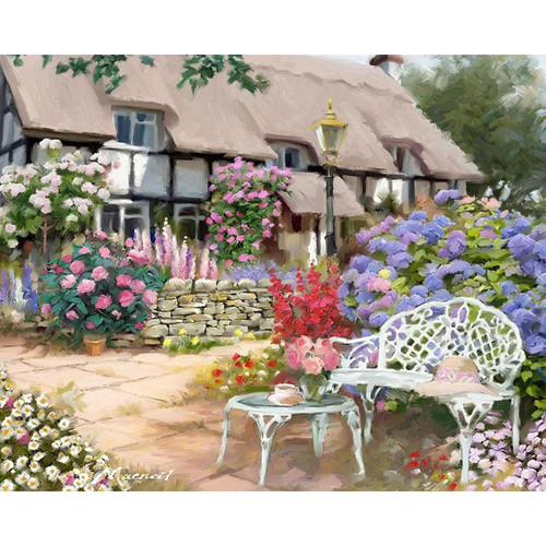 Alluring House - DIY Painting By Numbers Kit