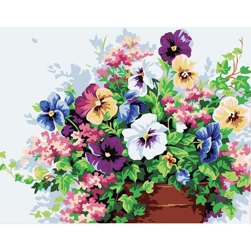 Small Garden - DIY Painting By Numbers Kits
