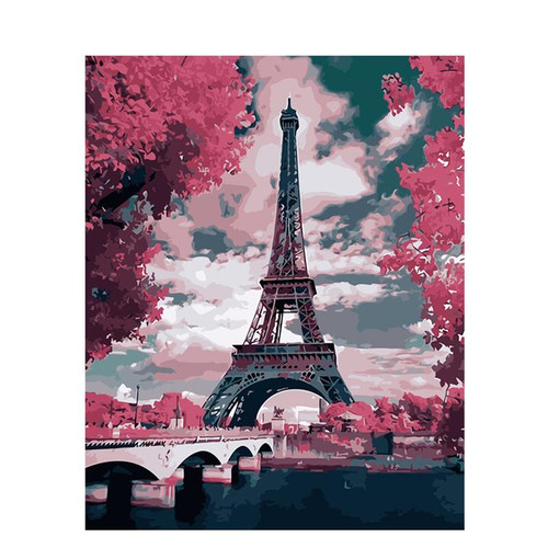 Eiffel Elegance - DIY Painting By Numbers Kit