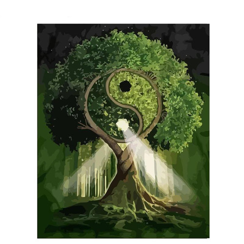 Zen Tree - DIY Painting By Numbers Kit