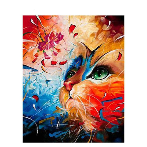 Mystic Cat - DIY Painting By Numbers Kit
