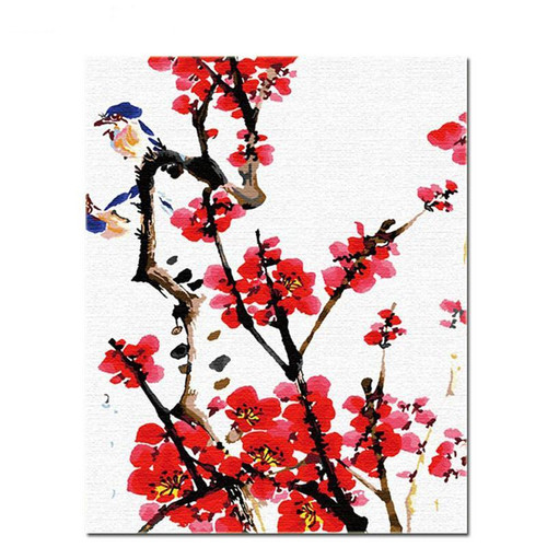 Japanese Art - DIY Painting By Numbers Kit